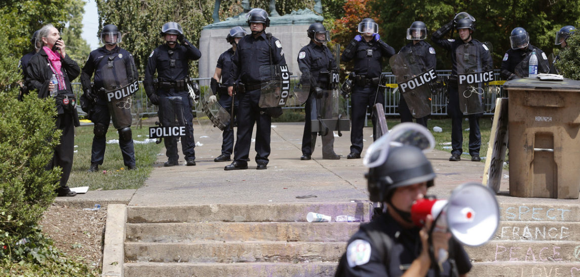 On Free Speech, Police And Peaceful Protest In Charlottesville