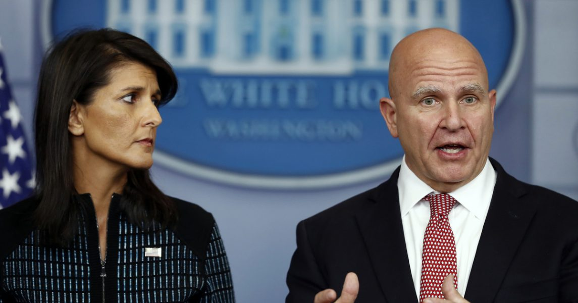 "McMaster: US Has Four Or Five North Korea Scenarios, ""Some Uglier Than Others"""