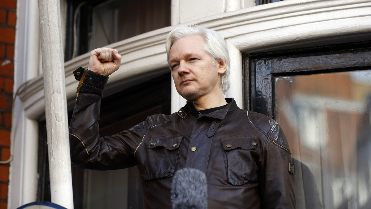 The Gray Lady Thinks Twice About Assange's Prosecution
