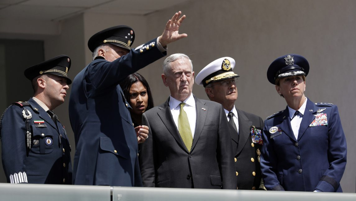 US Defense Secretary James Mattis Rejects War on Iran
