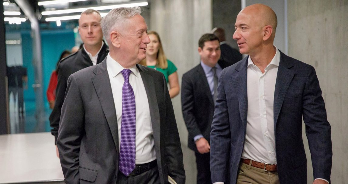 Bezos Cashes in on Lobbying Washington With Amazon's $53 Billion Deal to Supply Pentagon