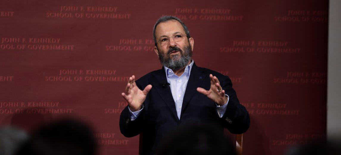 Ehud Barak's Disappointing Peace Plan
