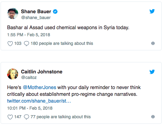 Syria Chemical Weapons Twitter