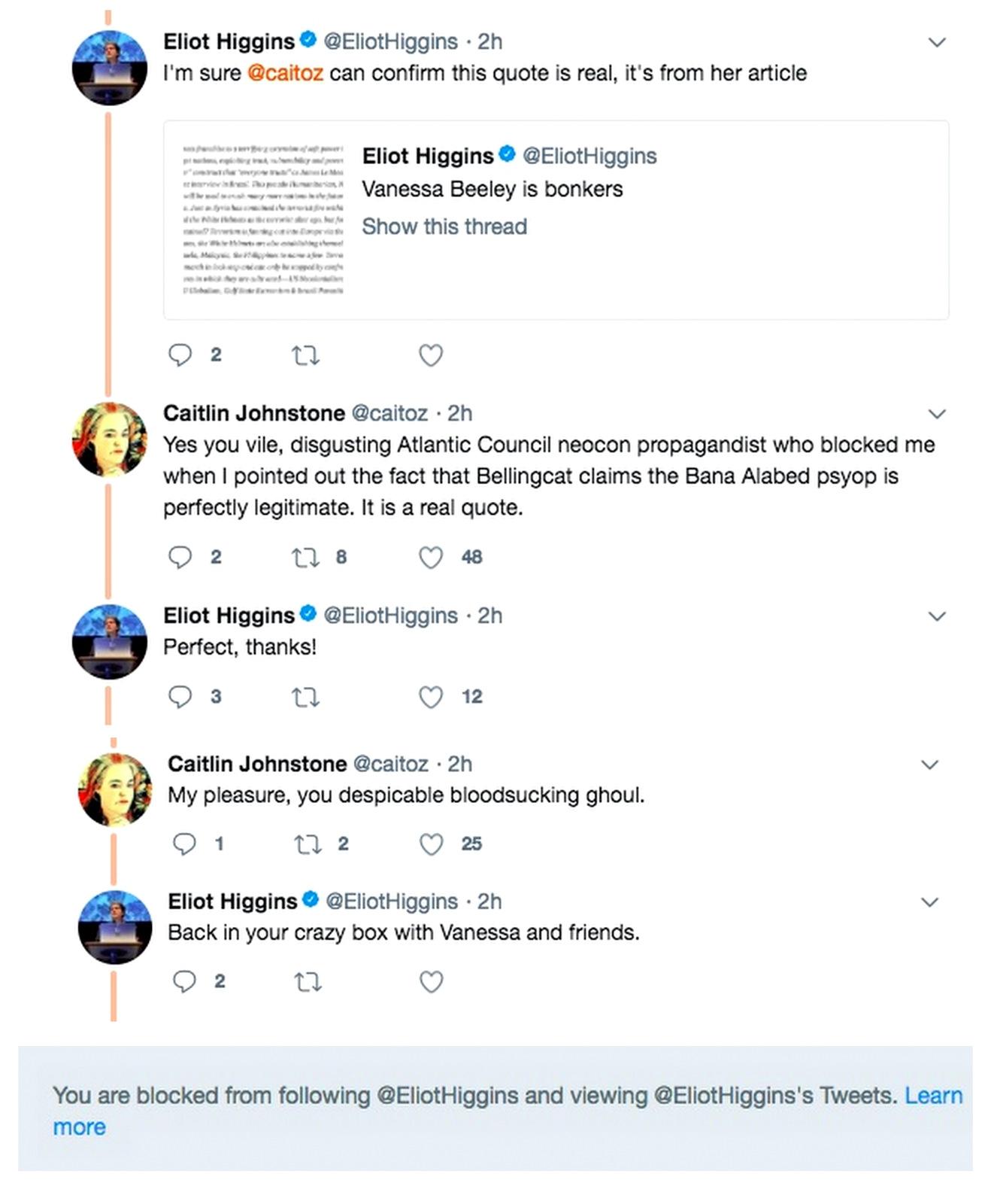 Elliot Higgins Twitter