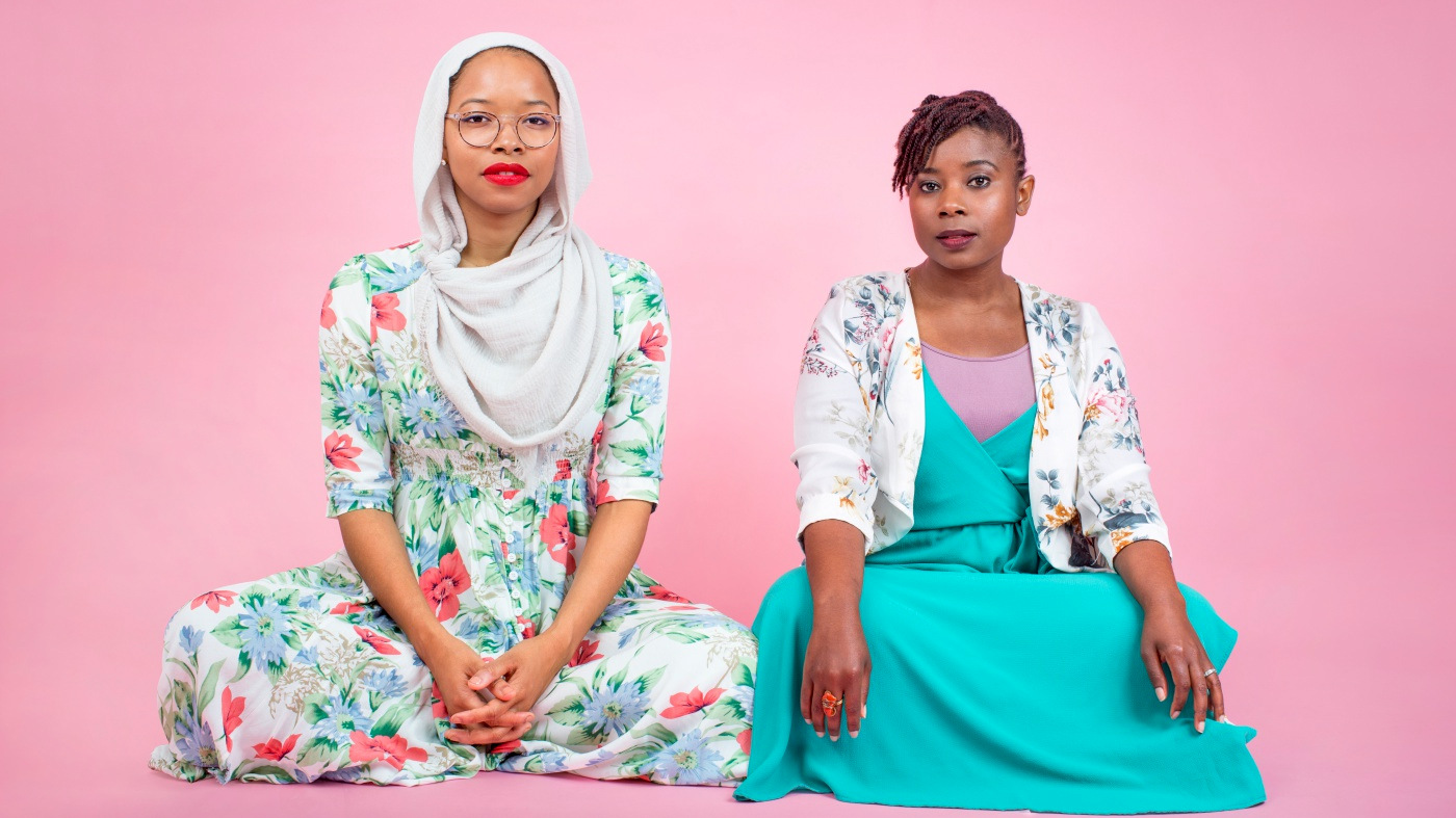 Makkah Ali and Ikhlas Saleem, co-hosts of the Identity Politics podcast, use Ramadan as a time to control physical impulses, such a backbiting or anger, and renew their spirituality. (Photo: Sakeenah Saleem)