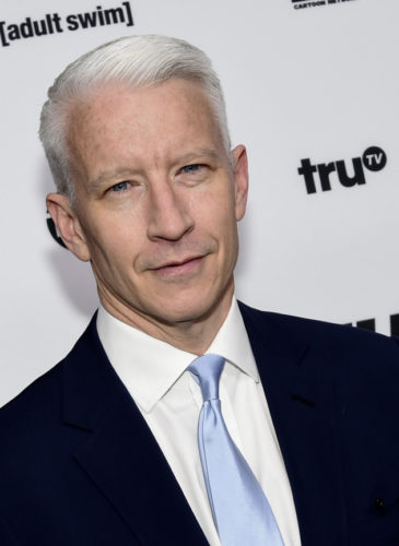 Anderson Cooper attends the Turner Network 2016 Upfronts in New York. Cooper will star in Facebook Watch's new news programming. Evan Agostin | Invision | AP