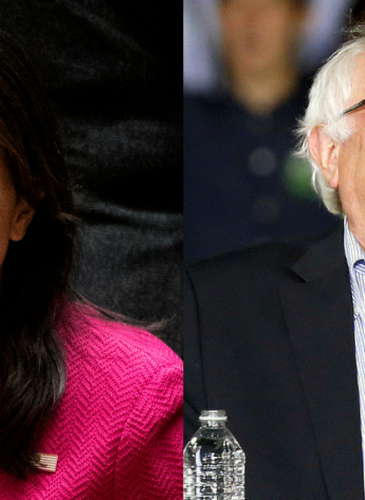 Nikki Haley and Bernie Sanders