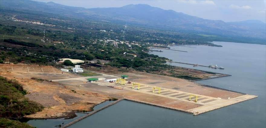 An aerial image of the Port of La Union in El Salvador. Photo | Public Domain