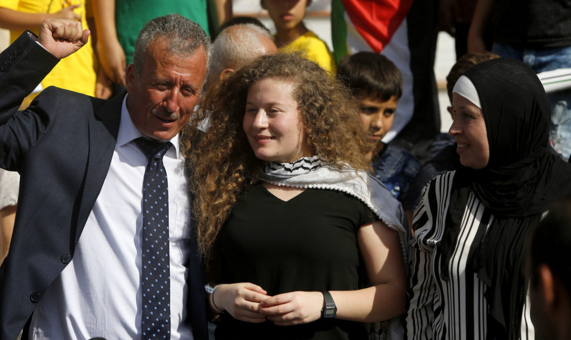 Ahed Tamimi Speaks at Greek Communist Party Event About Palestinian Resistance