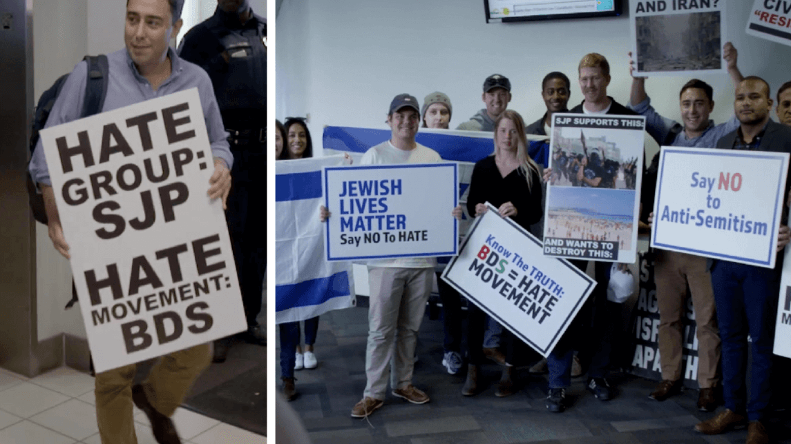 "Undercover Documentary Shows Israel Lobby Groups Organizing ""Fake Protests"""