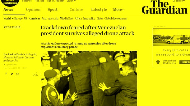 Guardian Venezuela Coverage