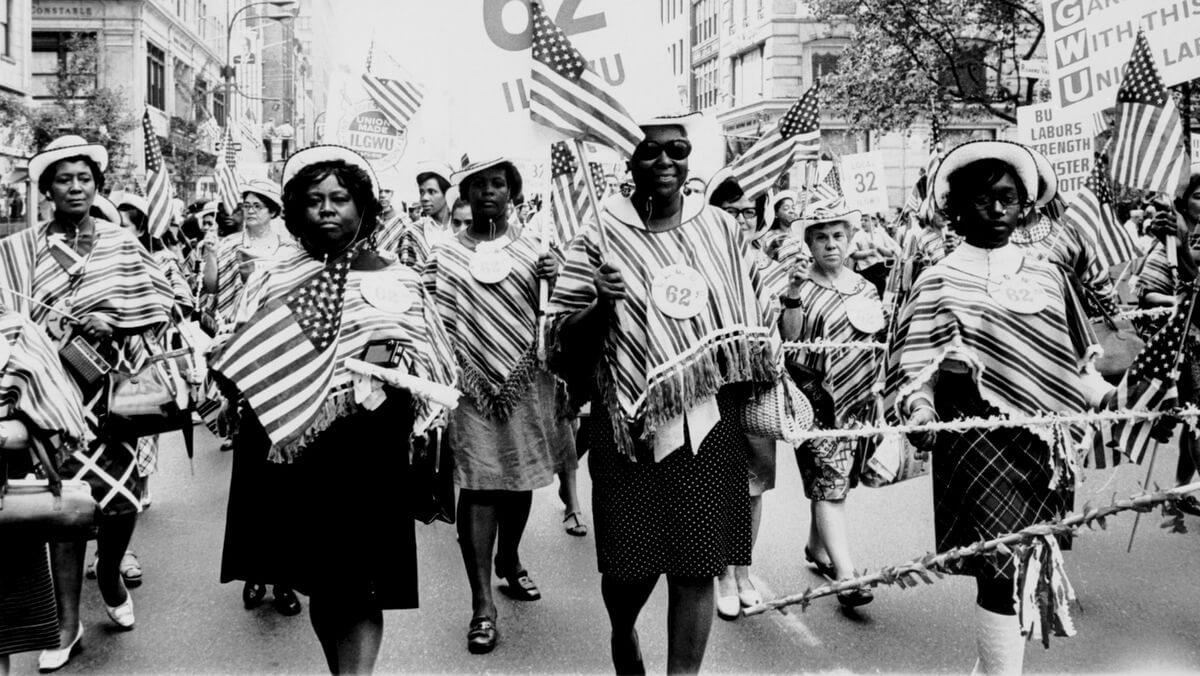 国际女士服装工人工会当地62日劳动节游行| Kheel中心| Flickr的