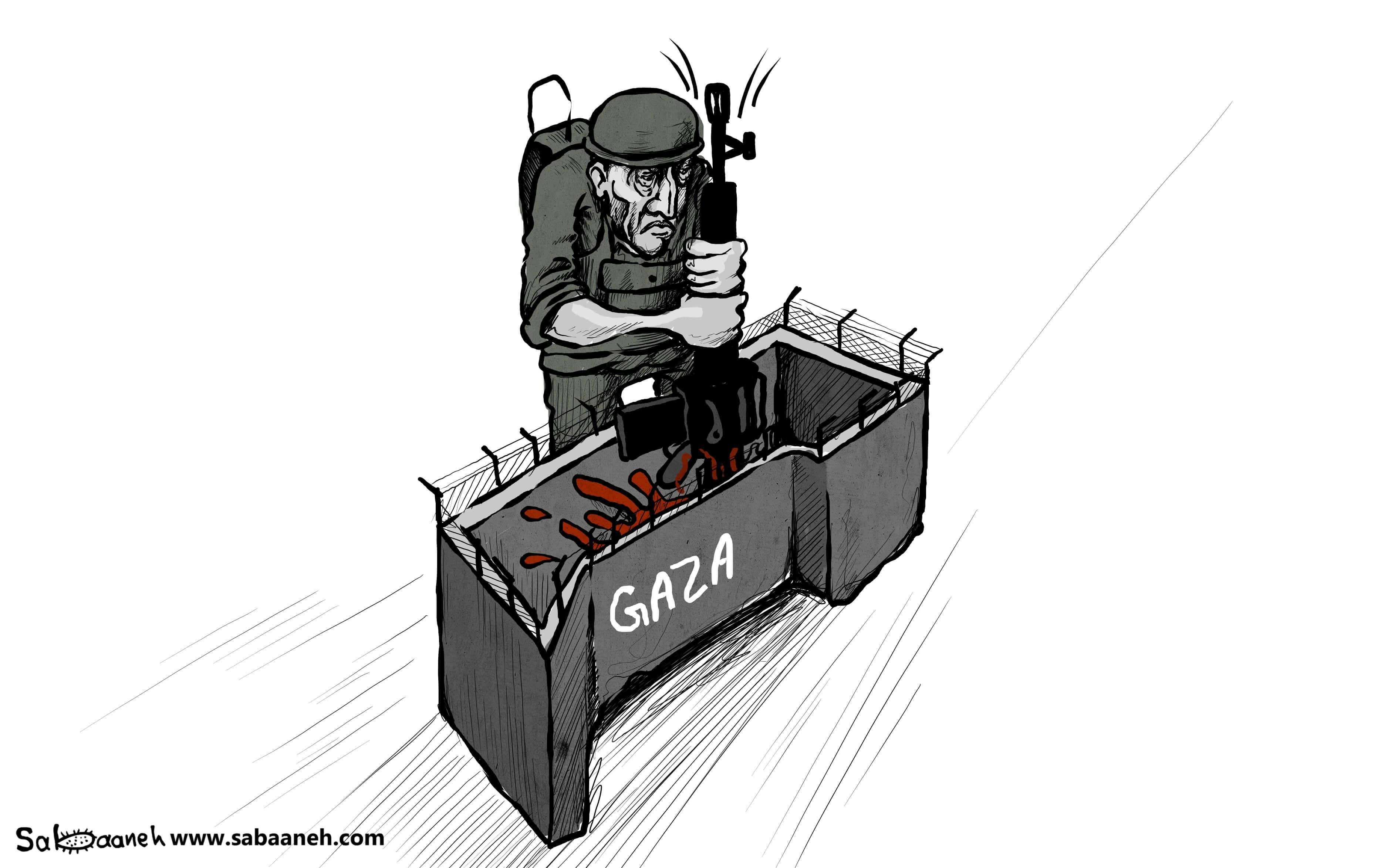 Israel Palestine Gaza Cartoon