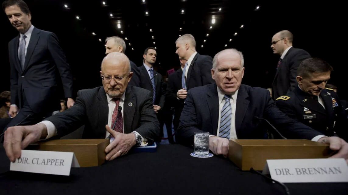 James Clapper, John Brennan, James Comey, Michael Flynn,