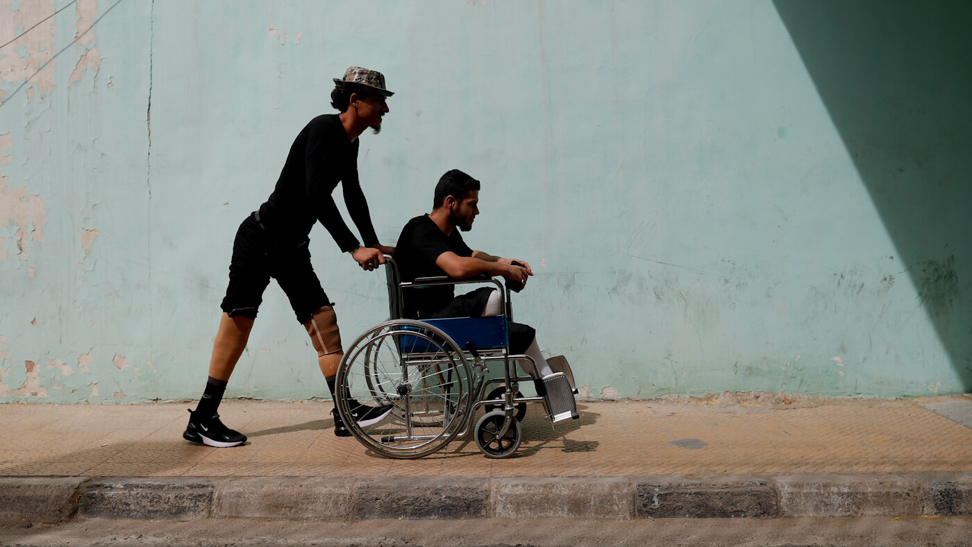 Syria Disabled Soldiers