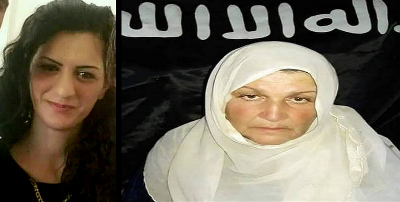 Left, Tharwat Fazel Abo Ammar, executed by ISIS on October 2, 2018. Right, Zahia Fawaz Al-Gebay, who died from health problems exacerbated by conditions hostages were forced to live in by their ISIS captors, on August 9, 2018. Photos | Courtesy of a Shbeki resident