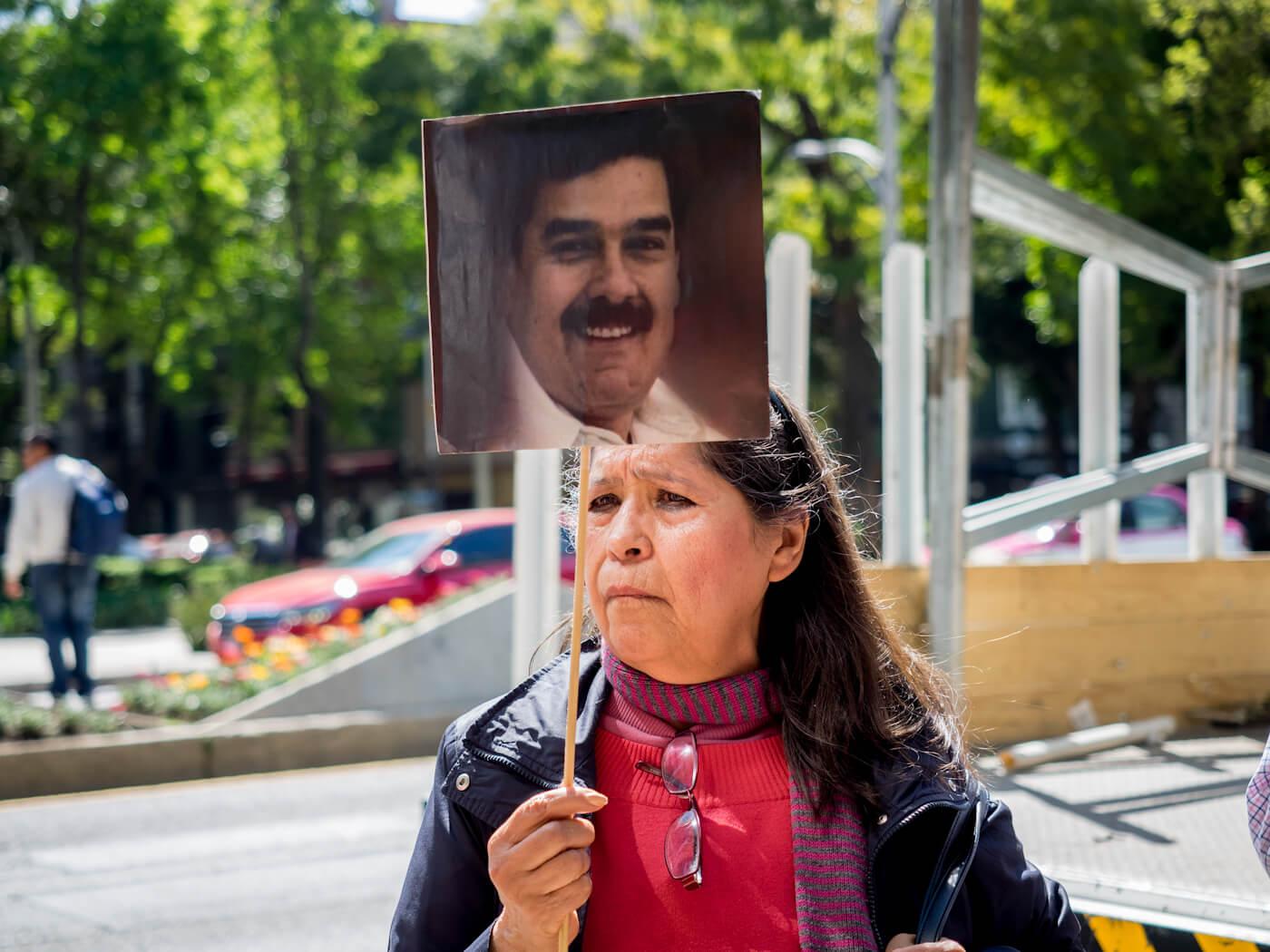 Mexico | Venezuela Protest