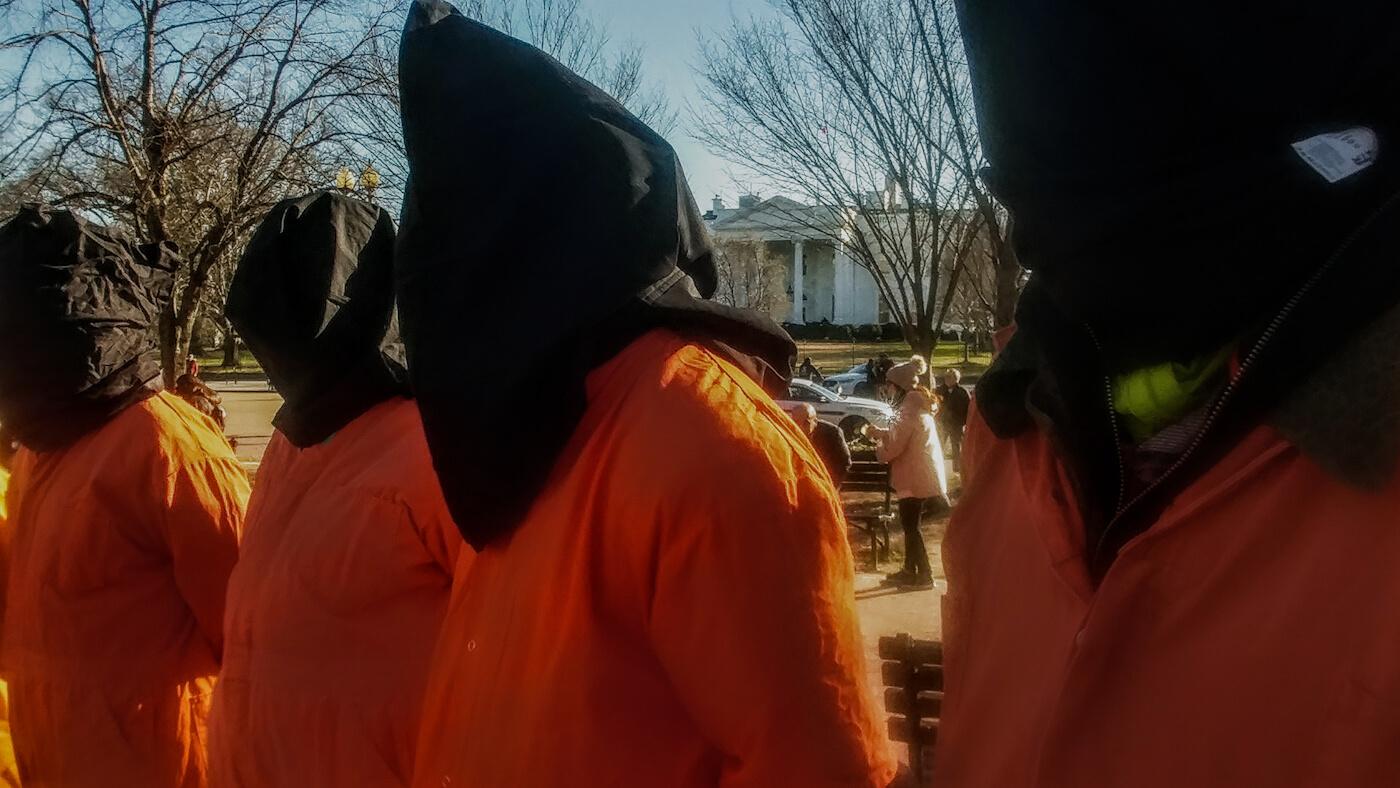 Guantanamo protest 2019