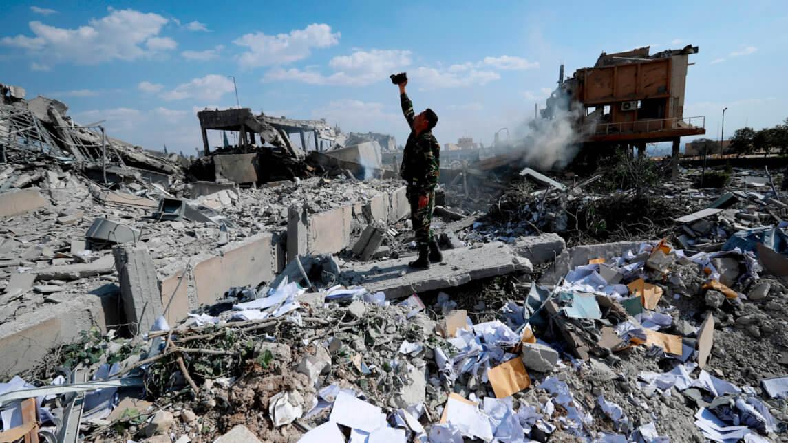 """美国国务院提供450万美元的拨款用于""""调查""""叙利亚和伊拉克的平民伤亡"""