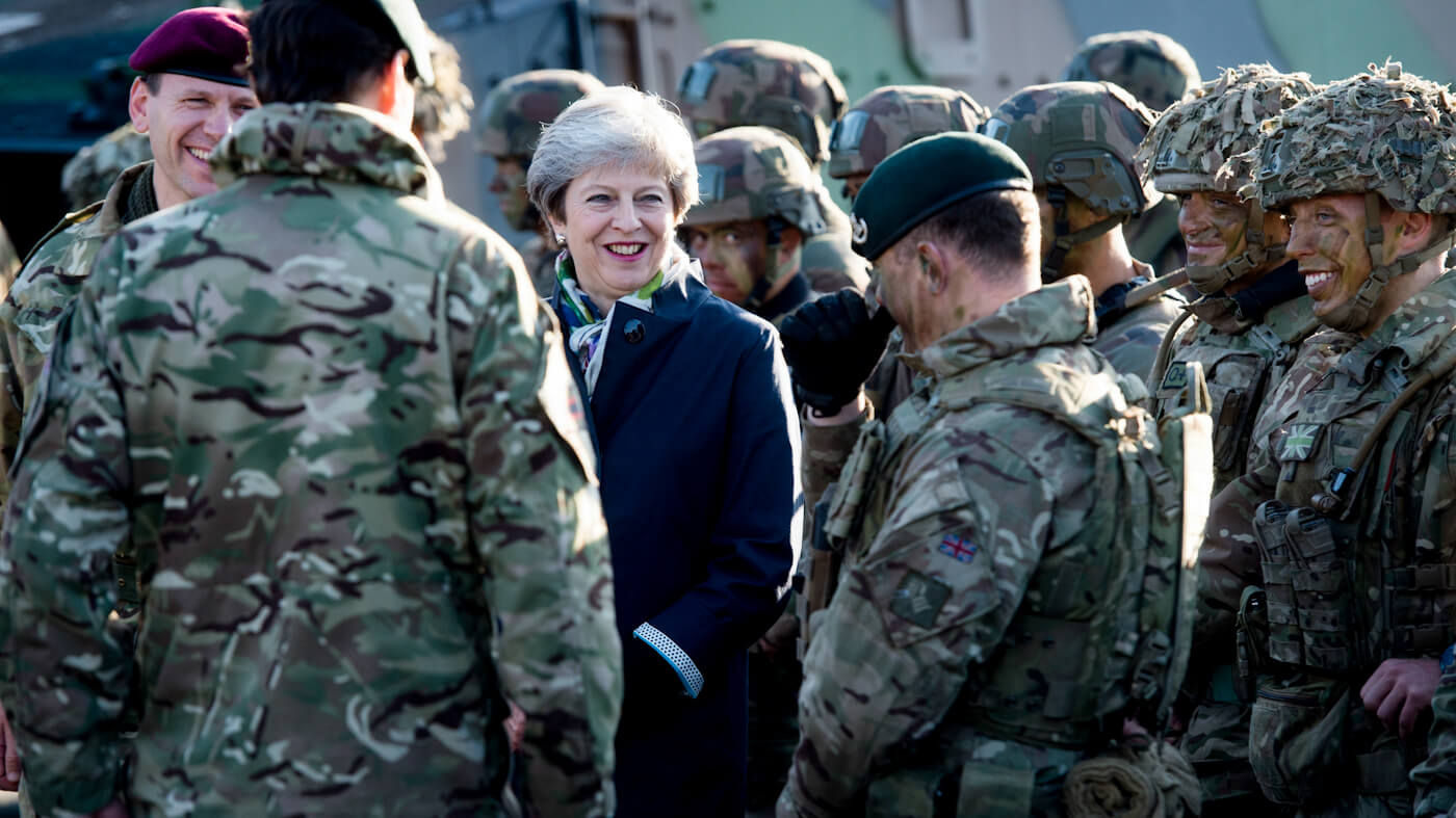 Theresa May | BREXIT Military