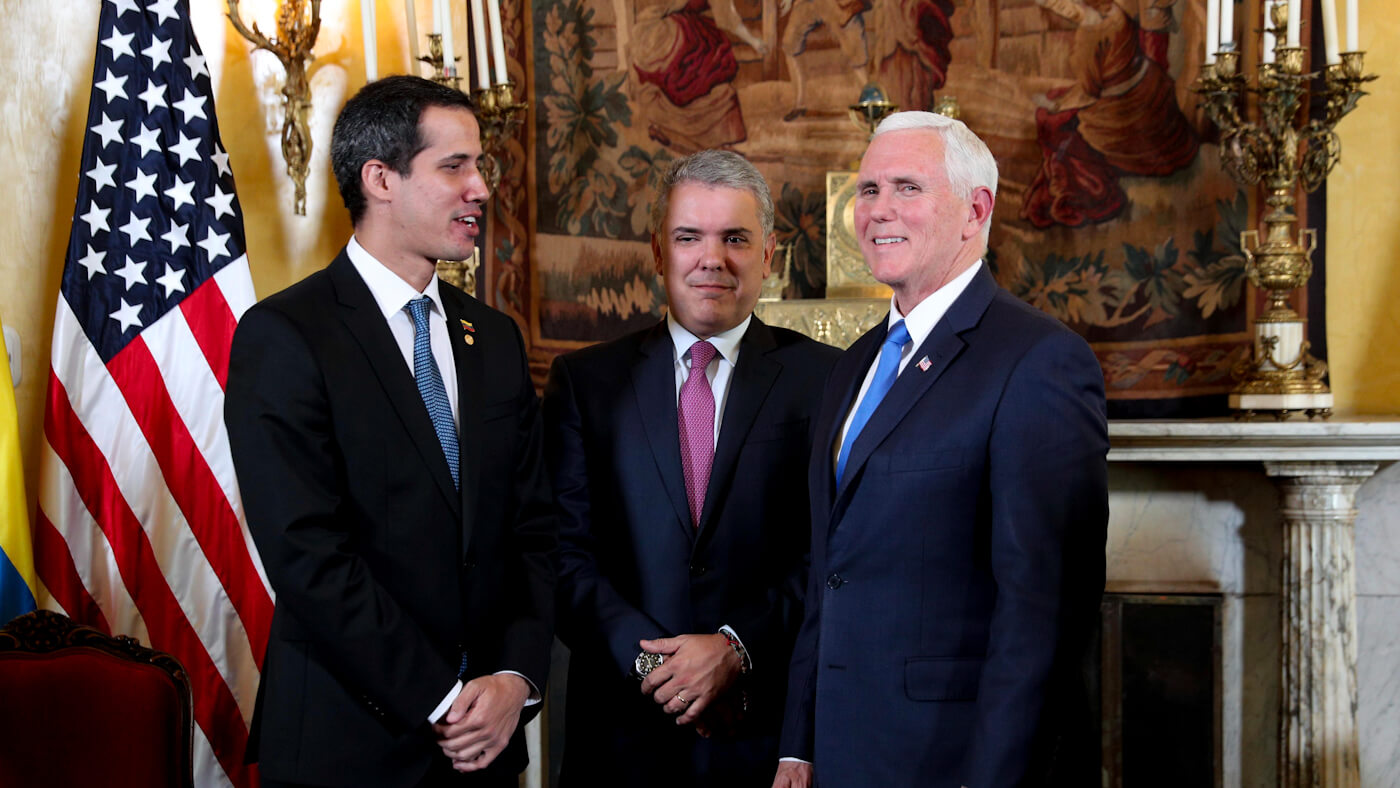 "Mike Pence Confirms: ""We Are With"" the Coup Plotters in Venezuela"