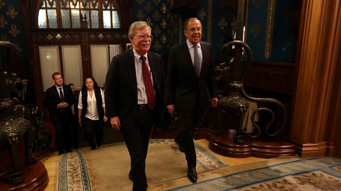 Russia Warns Bolton: 'Monroe Doctrine' Remarks Insulting to Latin America
