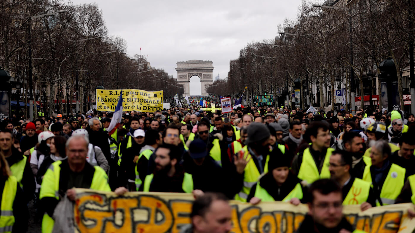 Civilians in Police Crosshairs as France Adopts Totalitarian Tactics