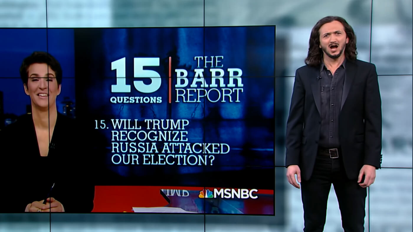 "Lee Camp Weighs in on Mueller Report, Self-Defeating Media, and ""Dingle Sticks"""