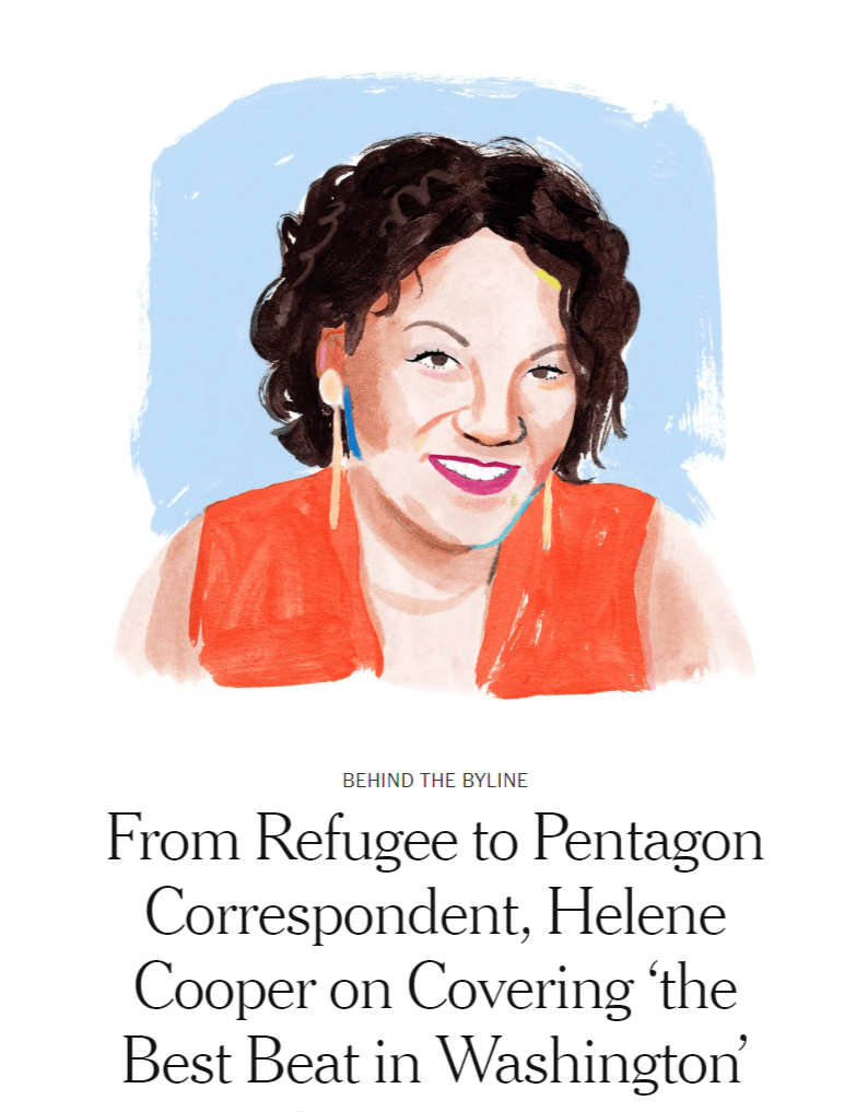 Helene Cooper waxes poetic about the Pentagon's latest 'toys'