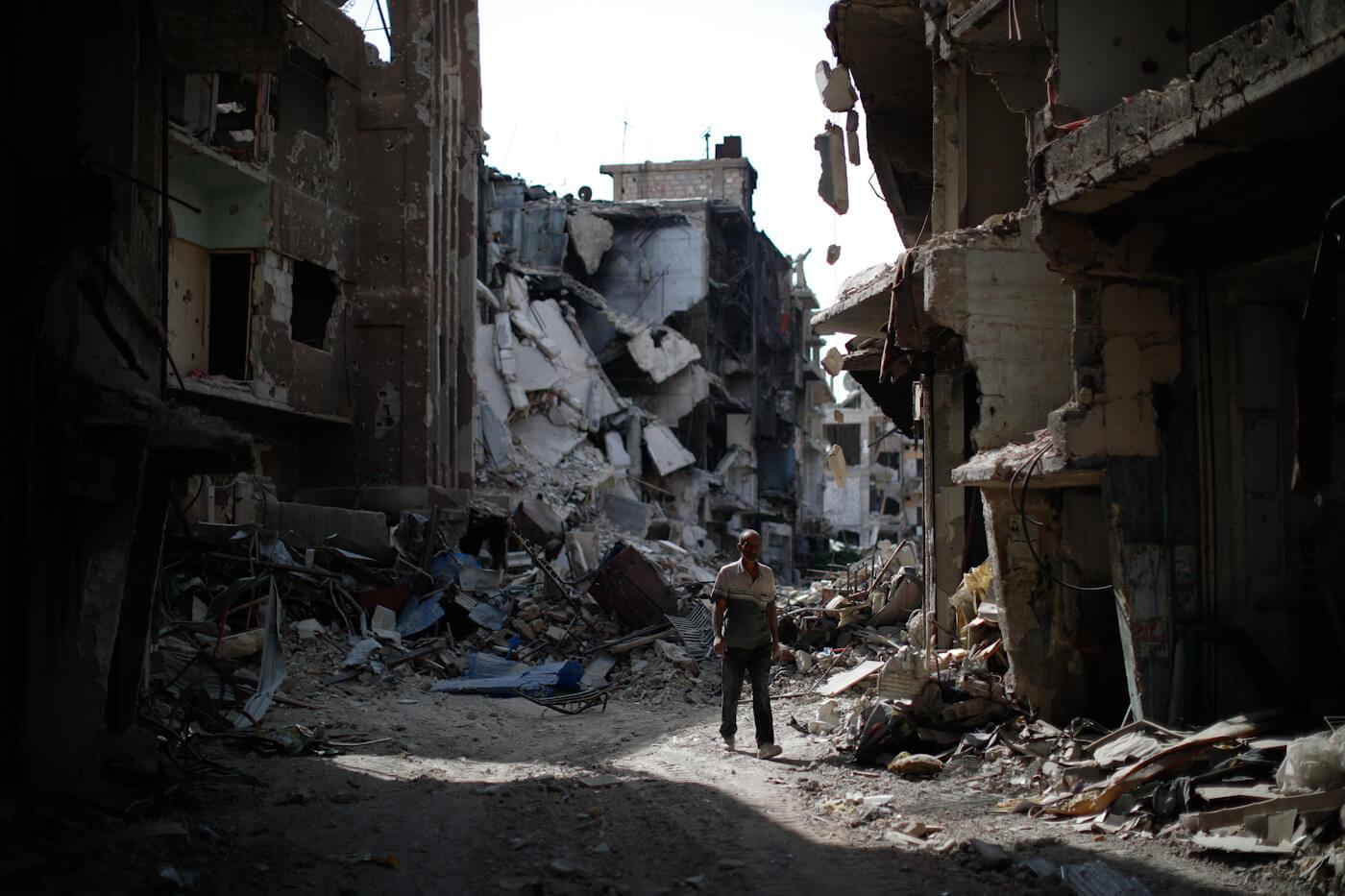 Siria refugiada palestina