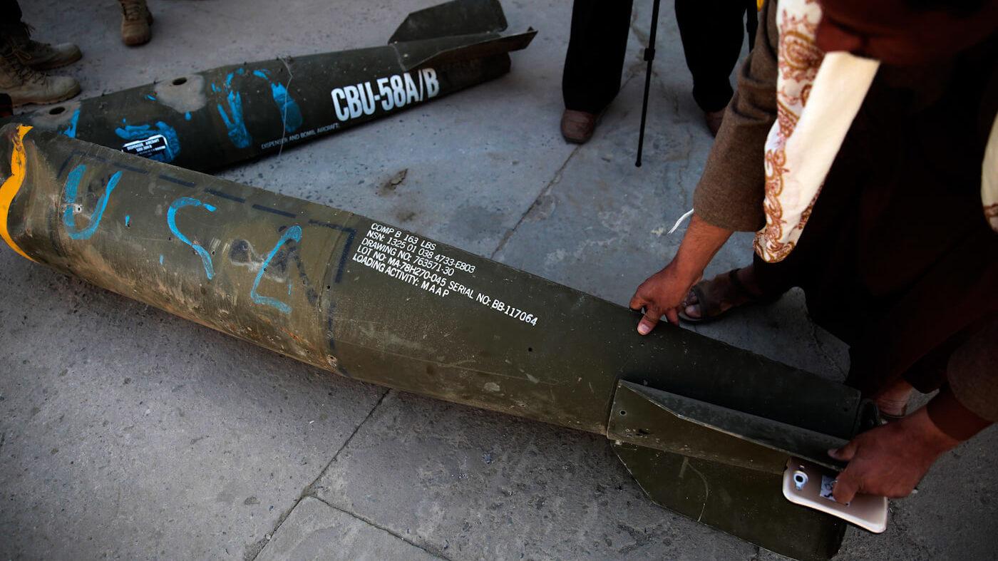 Saudi Arabia Yemen Cluster Bomb