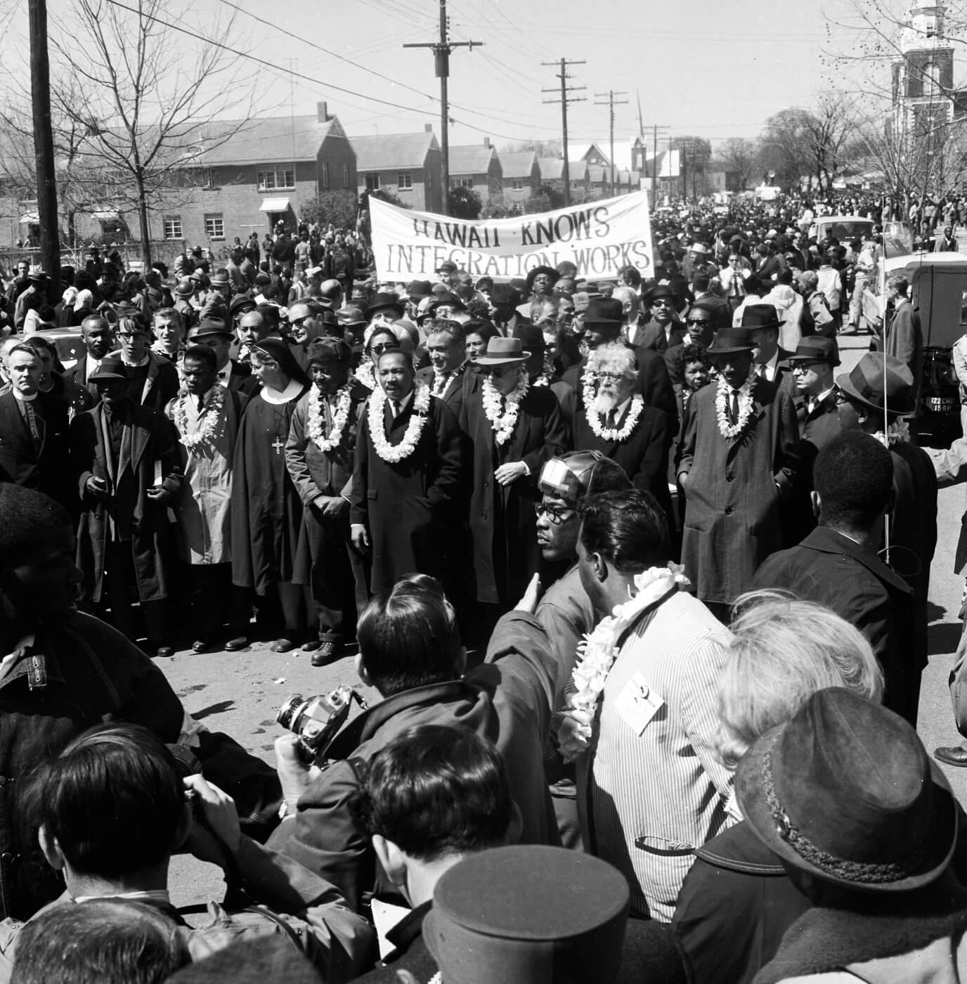 King Hawaii Selma marches