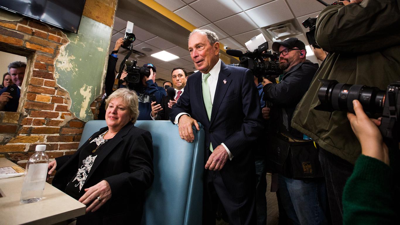 迈克尔·彭博(Michael Bloomberg)总统竞选引发关于民主和新闻自由的问题