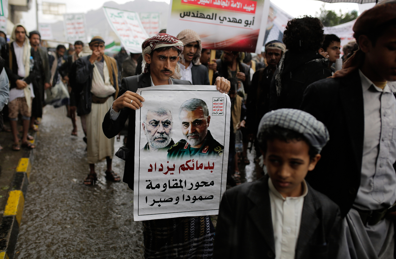 Yemen Soleimani assassination