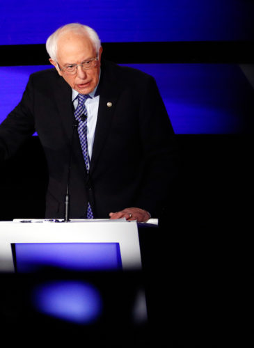 Bernie Sanders CNN Debate Feature photo