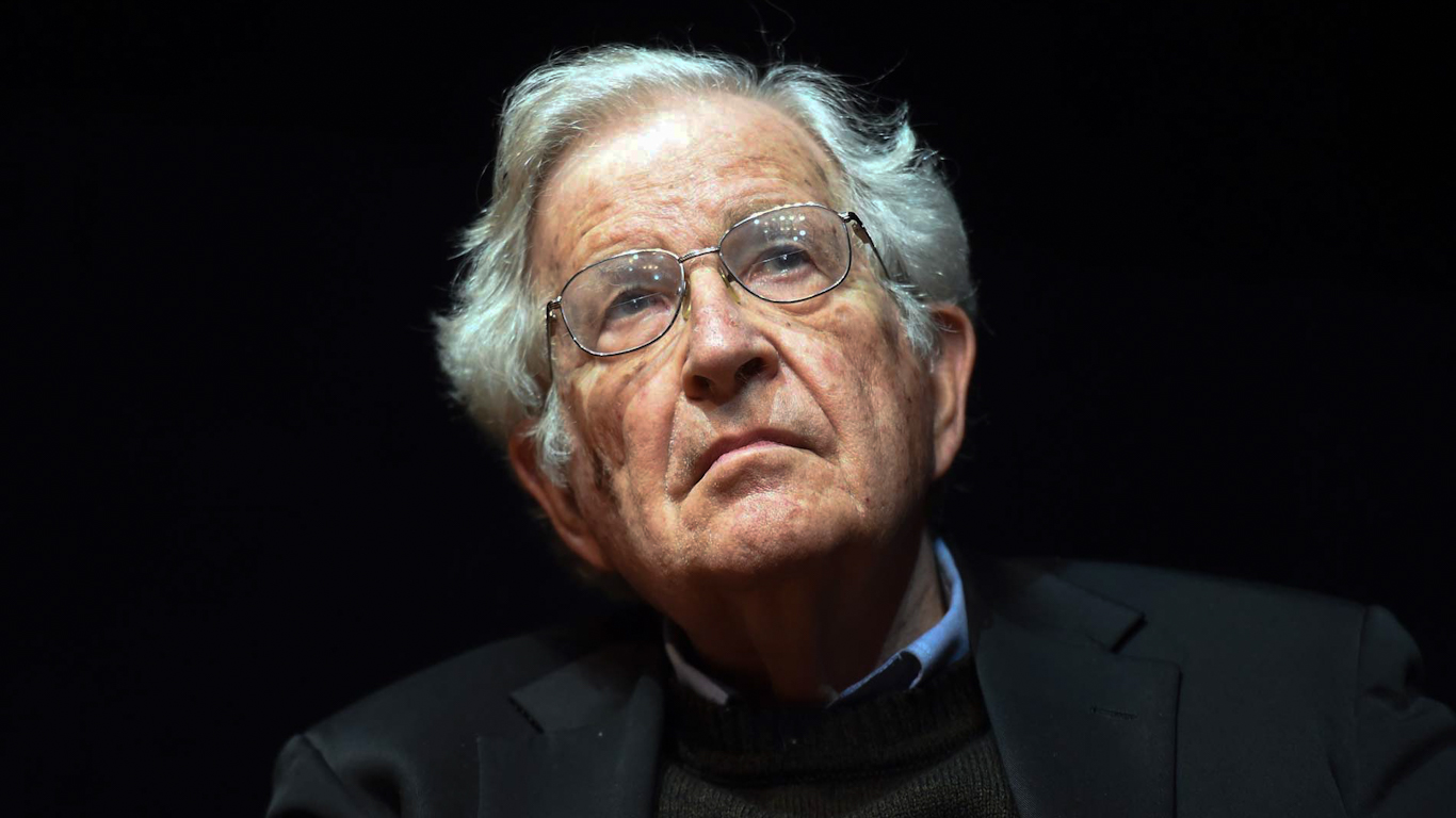 Noam Chomsky: People Even Worse Than Jeffrey Epstein Donated to M.I.T.