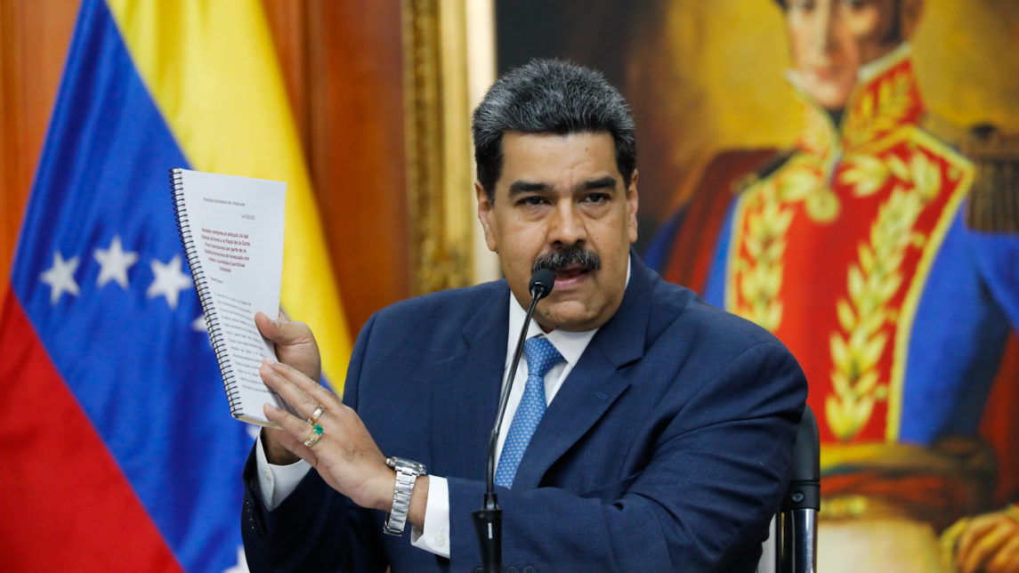 Amid Sanctions and Military Mobilization, Maduro Pens Letter Urging Americans to Question Trump