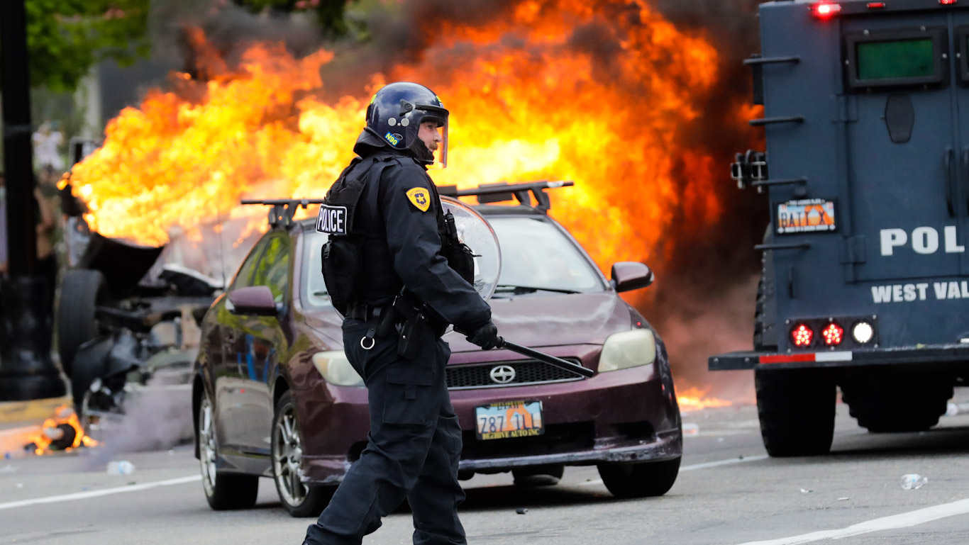 Police Agent Provocateurs Feature Photo
