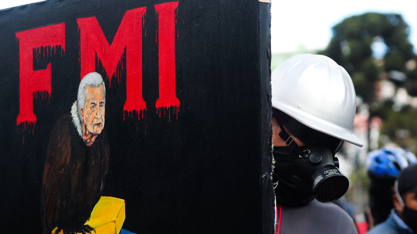 Ecuador IMF Protest Photo of the day