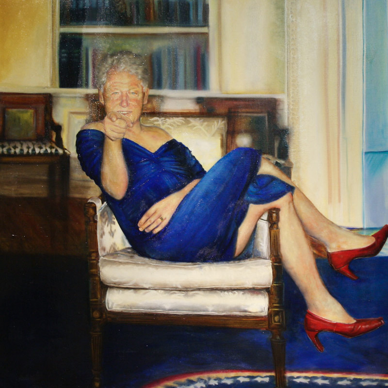 Epstein Clinton Painting