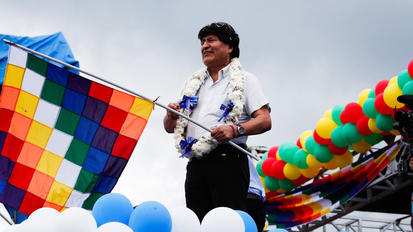 Evo Morales Feature photo